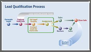 business development representative lead qualification process
