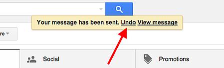 Gmail Email Undue Send Inbox