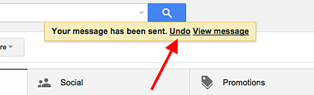 Gmail Email Undue Send Inbox